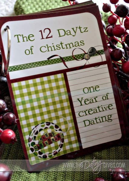 dating divas 12 daytz of christmas I got the great idea from the dating divas site  adding 12 daytz of christmas and reindeer  signing up to receive communication from a work of grace.
