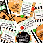 Printable March Madness Love Coupons and Notes