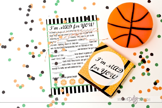 Free Printable March Madness Love Notes and Coupons