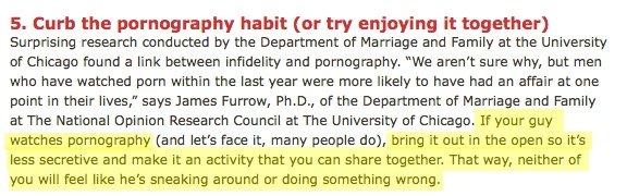 Marriage and Pornography