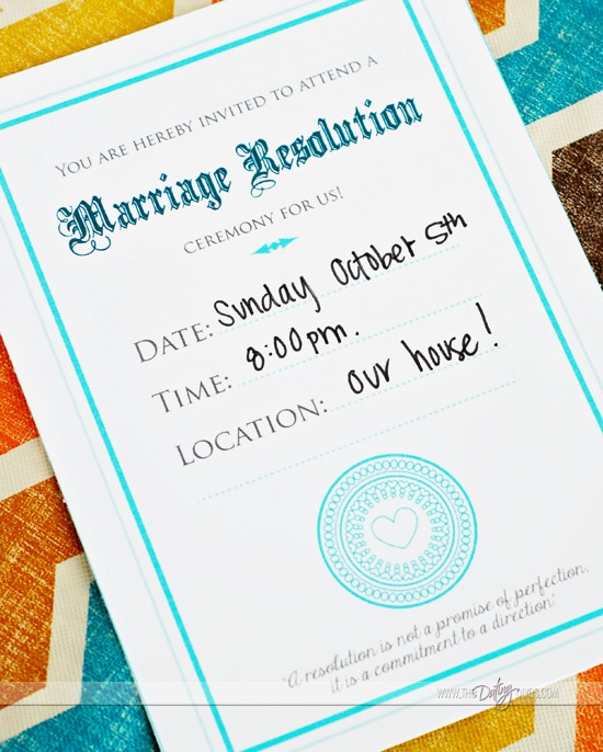 Marriage Resolution Free Printables Movie Courageous