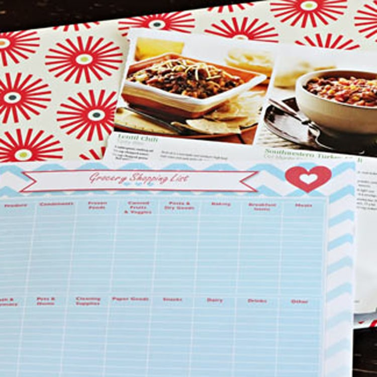 Menu Planning Date Night Idea