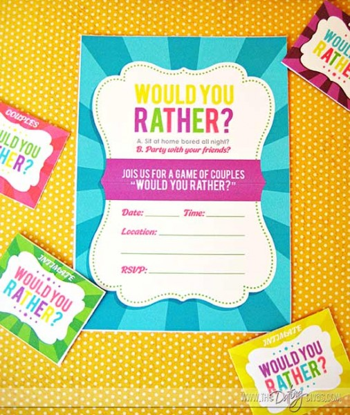 dating divas would you rather Here are a ton of thought provoking and difficult to answer would you rather questions find out more about others or just find out more about yourself.