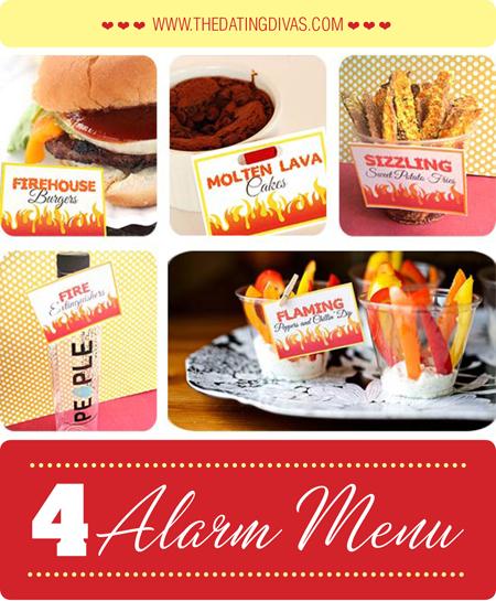 Michelle-blazin' date-4 alarm menu