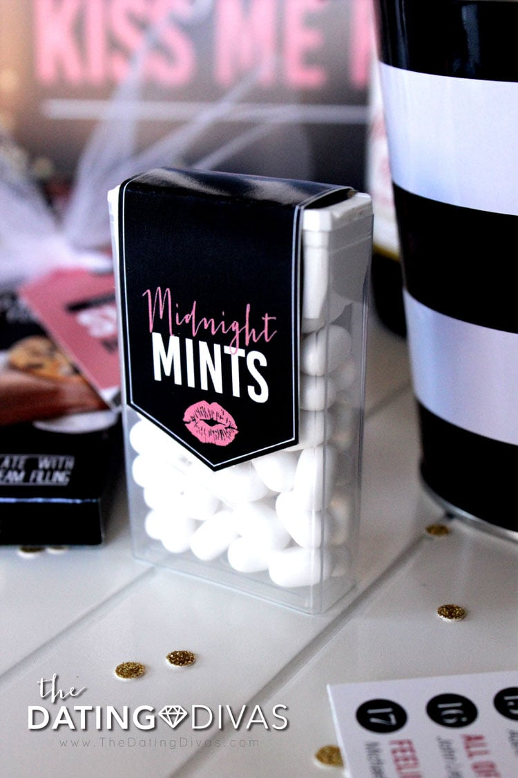 Midnight Mints for New Year's Eve