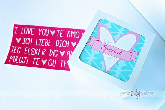 Mini Valentine's Gift Box