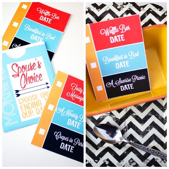 Morning Date Ideas and Printables