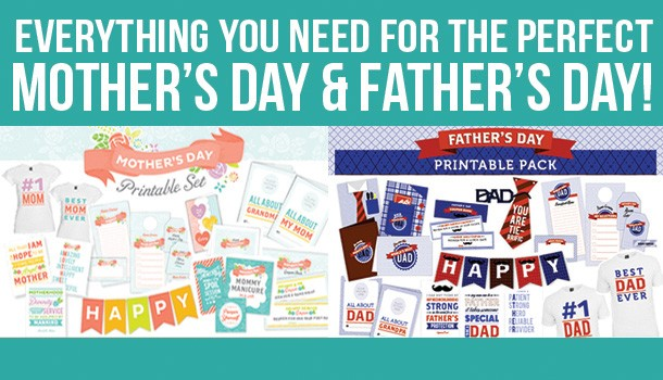 Mother's Day AND Father's Day - DONE for You!