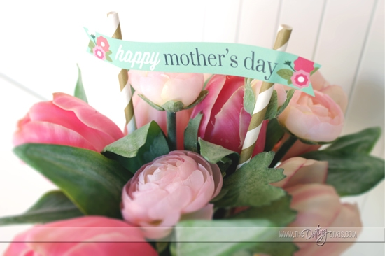 Mother's Day Bouquet Beautiful Toppers