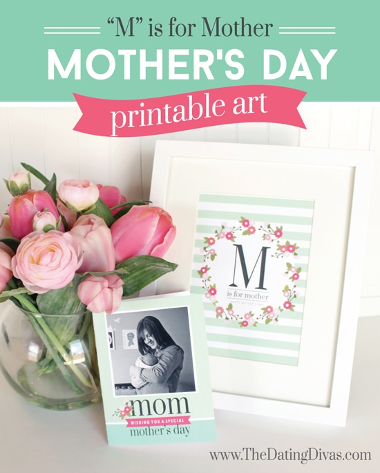 Mother's Day Breakfast Kit Printable Artwork