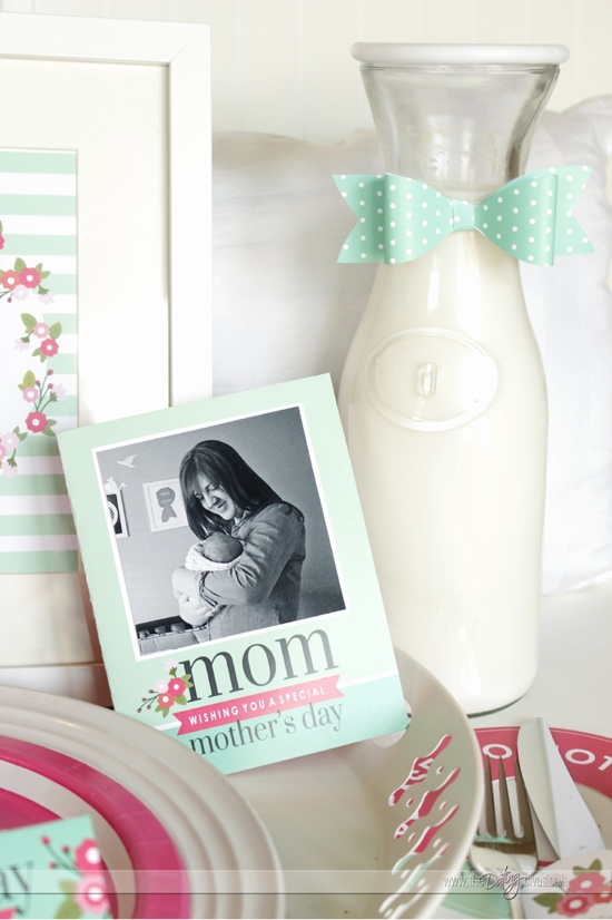 Mother's Day Breakfast Kit Photo Card