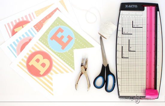 Mother's Day DIY Banner