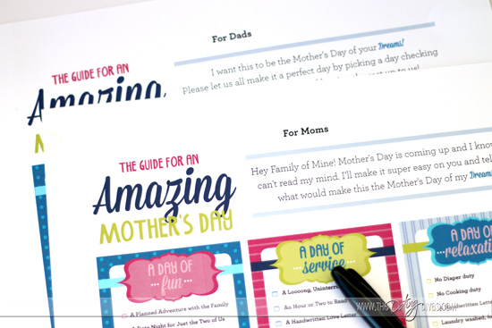 Mother's Day Guide Printables