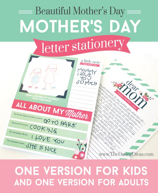 Mother's Day Letter and Gift