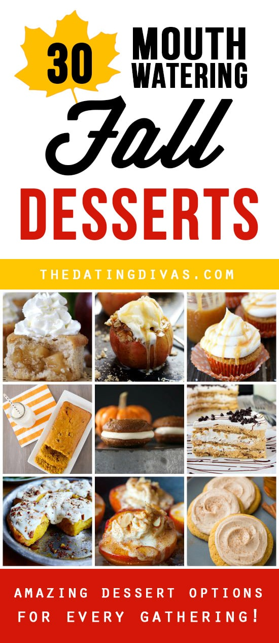 Desserts for Fall Recipes