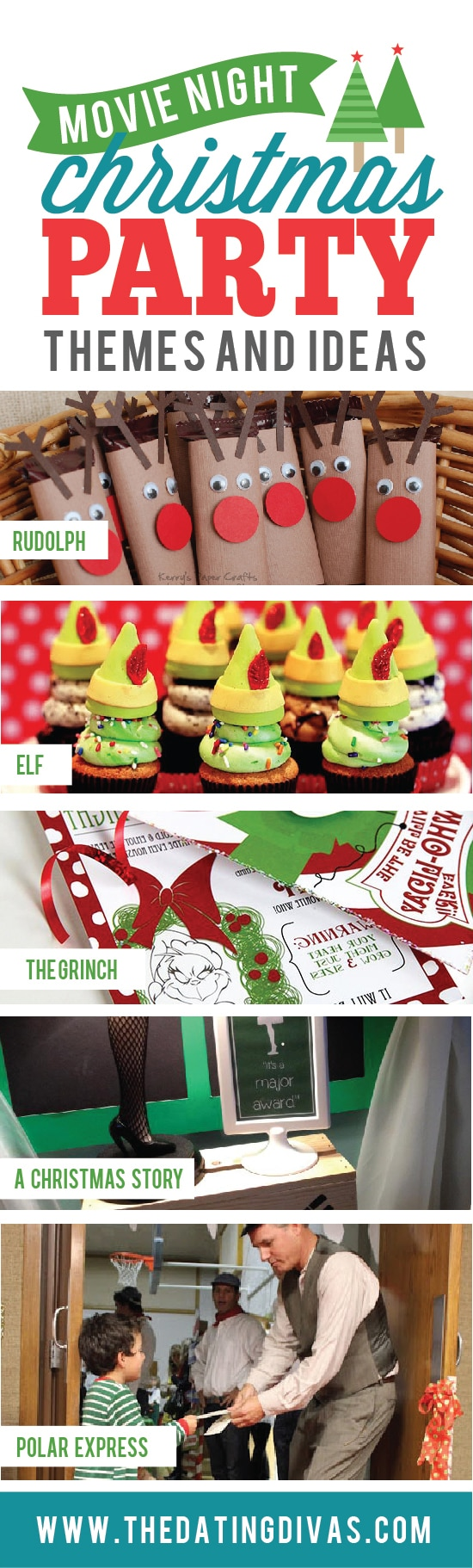 Charming Christmas Party Night Ideas Part - 14: Awesome Movie Christmas Party Themes