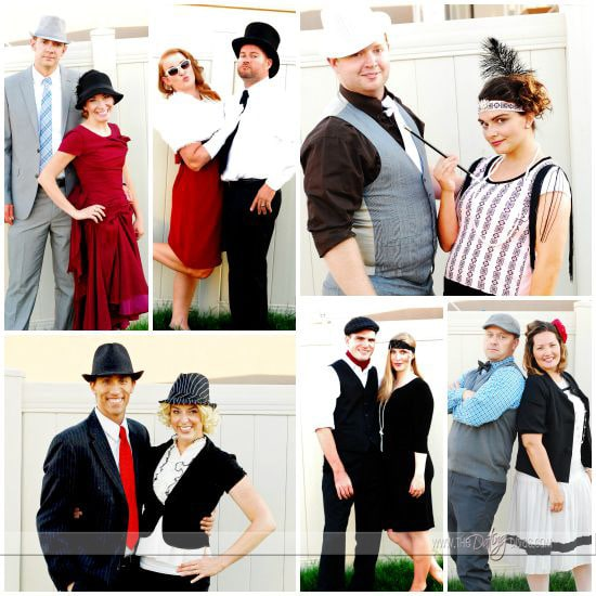 Murder Mystery Character Costumes