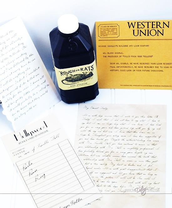 Murder Mystery Date Printable Evidence