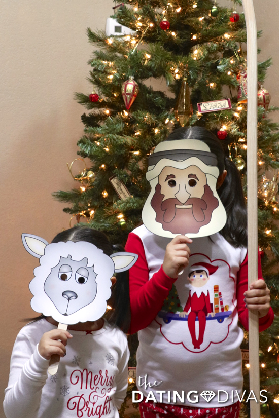 Nativity Shepherd Costume for Christmas Pageant
