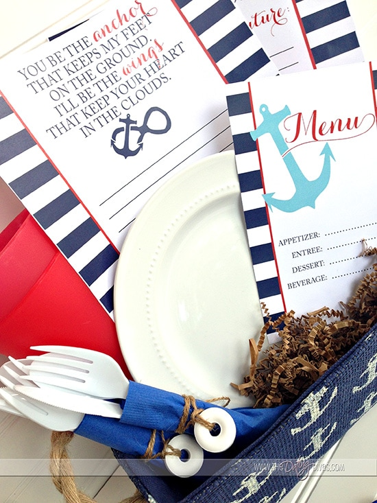 Nautical Date Night Printables