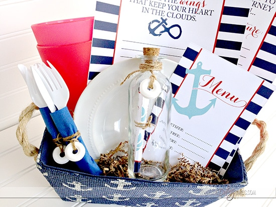 Nautical Themed Dinner for Two