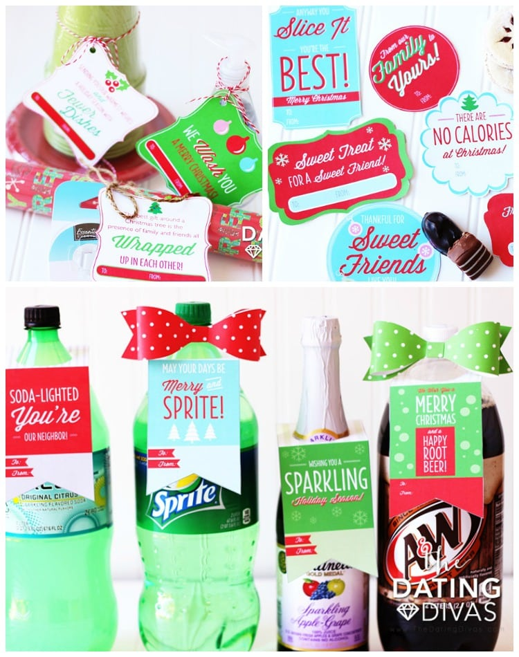 Christmas Neighbor Gift Ideas Tags