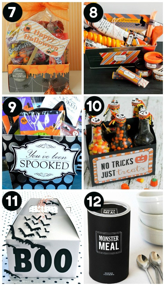 Halloween Goodie Bag Ideas for Neighbors