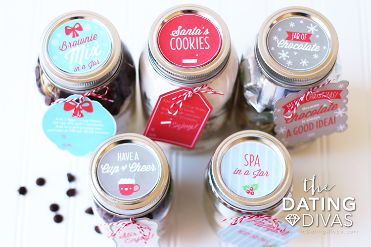 Neighbor Gift Ideas Jars