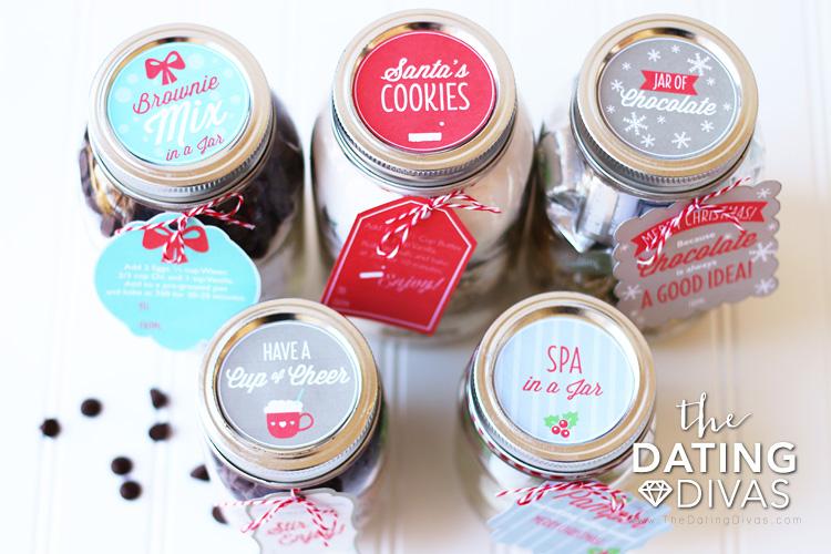 Neighbor Gift Ideas Jars