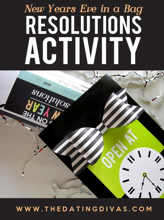 New Years Eve Resolutions Printable