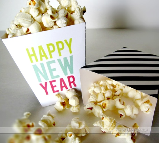 New Years Eve Countdown Bags Movie