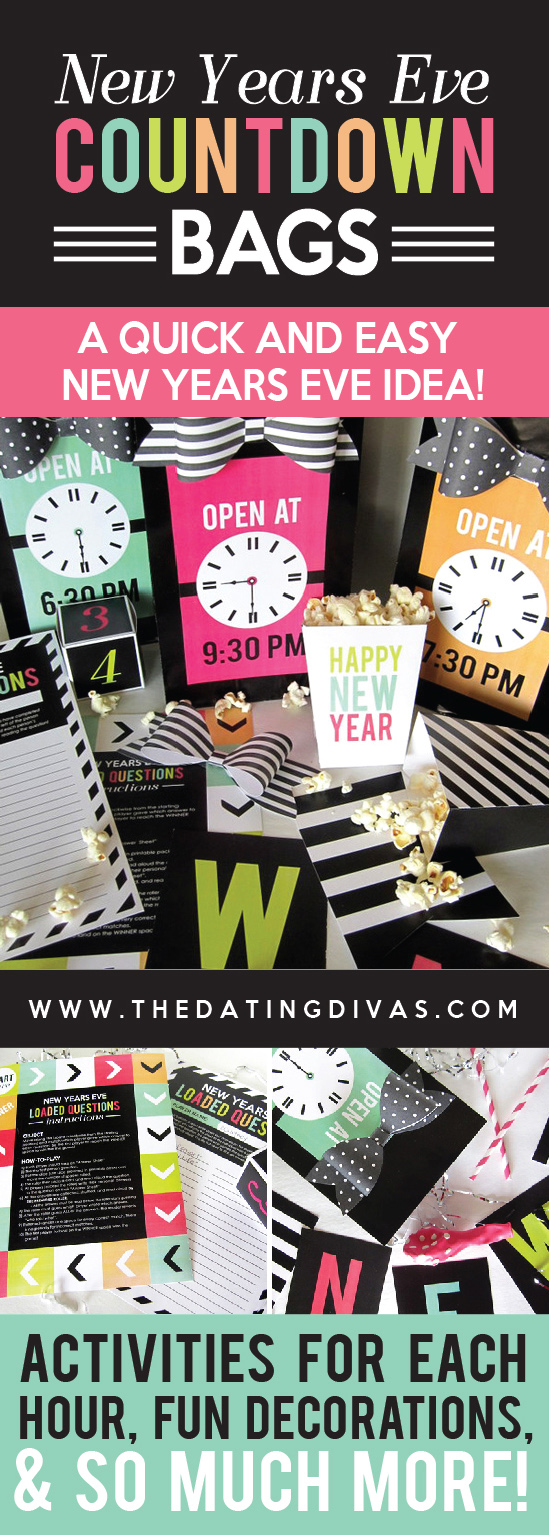 New Years Eve Countdown Bags