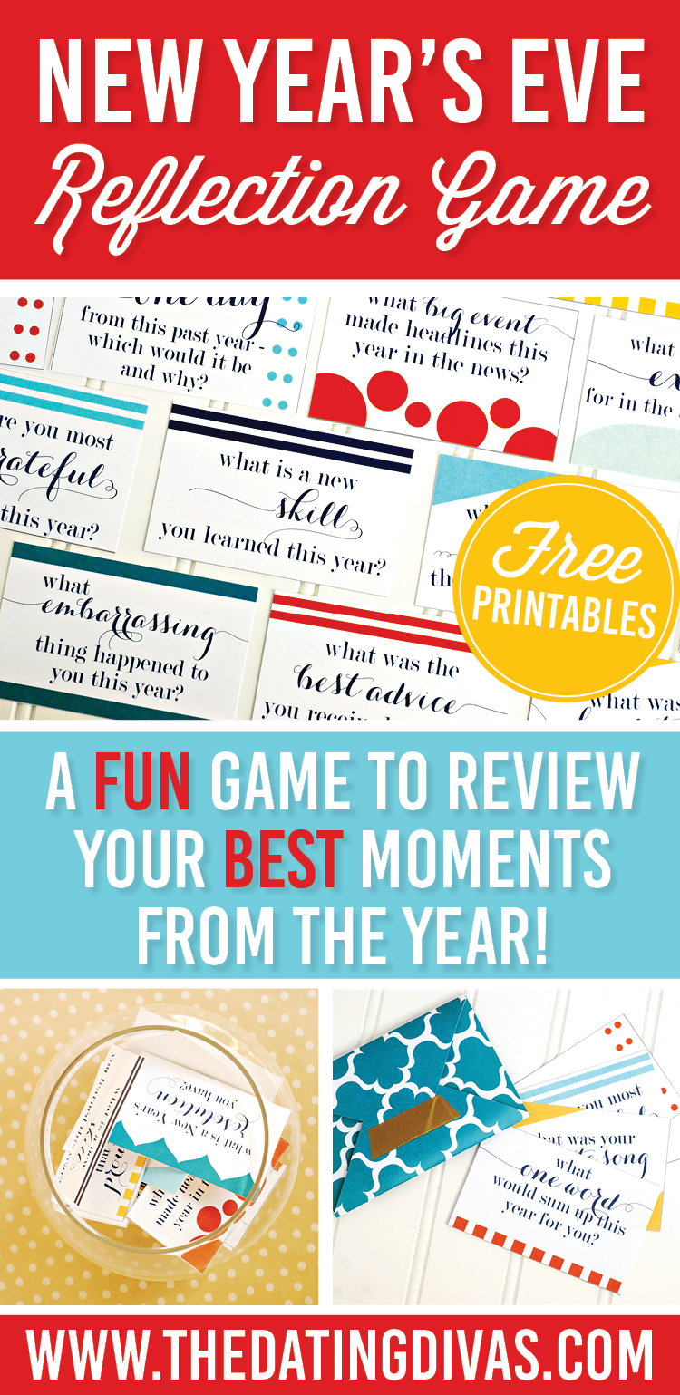 New Year\'s Eve Reflection Game