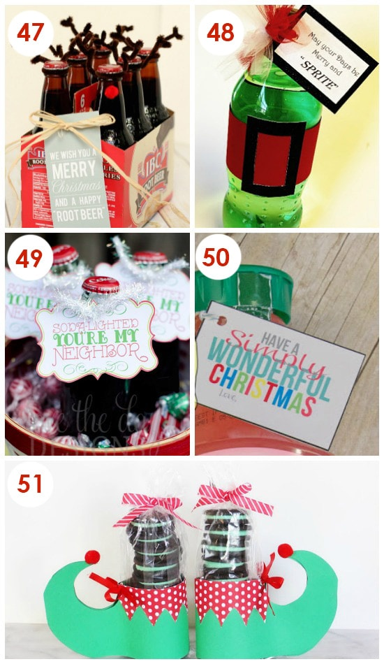 No Bake Christmas Neighbor Gifts
