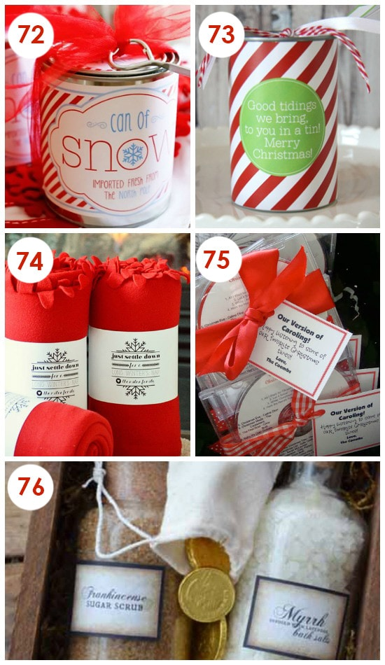 Non-Treat Neighbor Gift Ideas