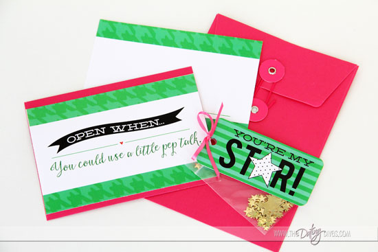 Open When Letters and Embellishments