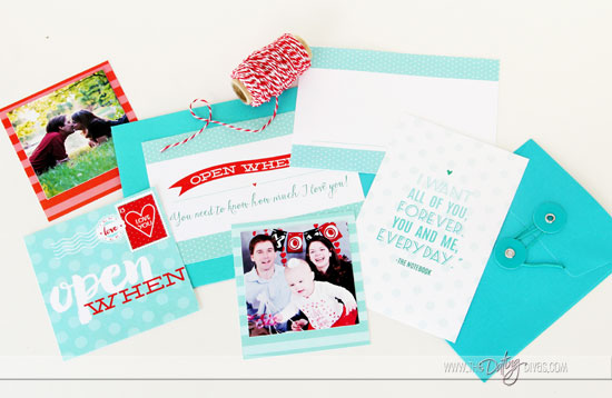 Open When Love Letters Gift2