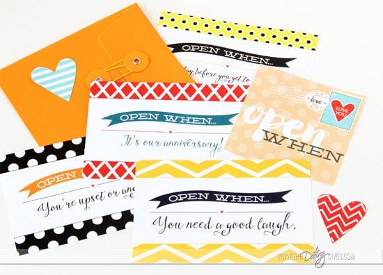 Open When Love Letters