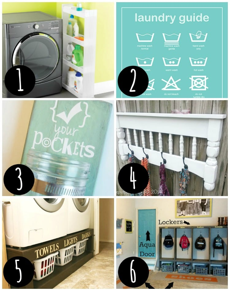 Organize your laundry room today!