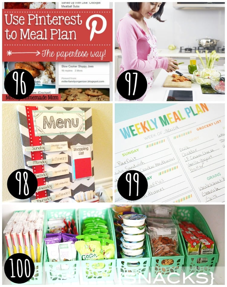 Meal planning for you family!