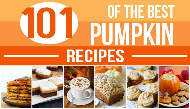 The Ultimate Pumpkin Recipe Round-Up