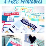 Our Year In Review Printables