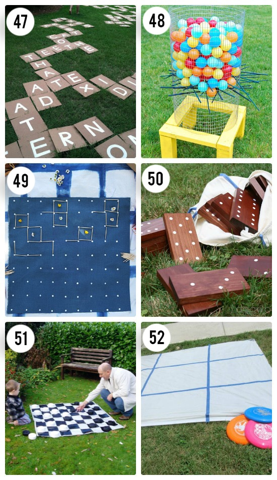 Fun Board Games for Outdoors