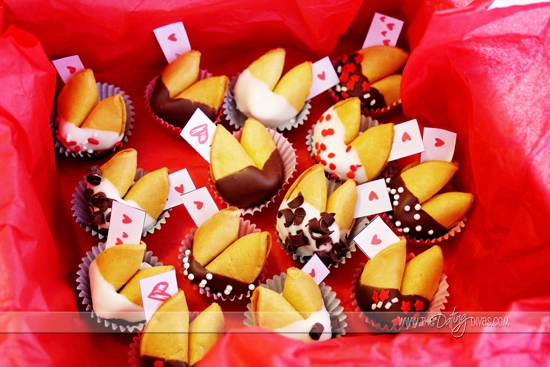 DIY Valentine Fortune Cookies for HIM