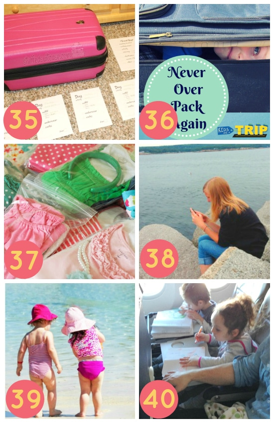 Packing for Spring Break with Kids