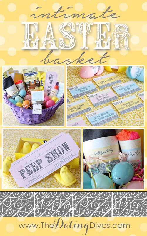 Intimate easter basket paige april basket pinterest negle Choice Image
