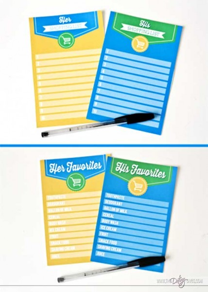 Great Date Ideas: Super Store Sweep Date. Free printables www.thedatingdivas.com
