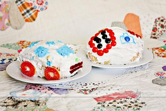 Finished Cakes