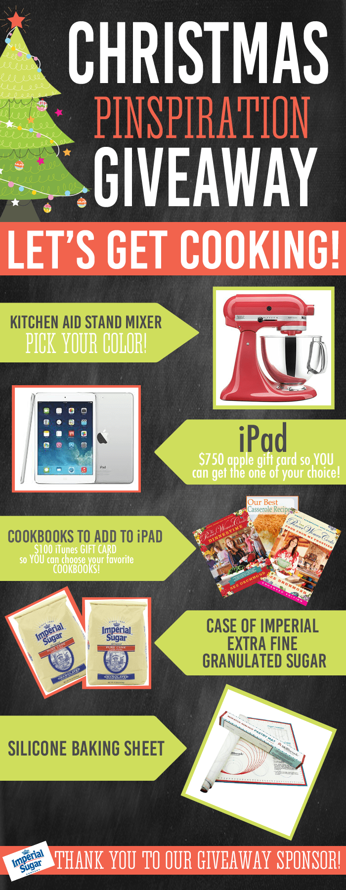 The Ultimate Cooking Giveaway and LIVE Party on Pinterest