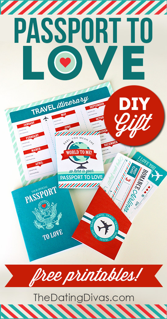 Passport to Love-DIY Romantic Gift
